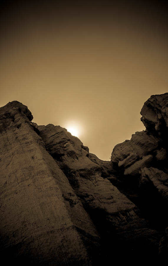 Occult Glow – Red Rock Canyon State Park, California