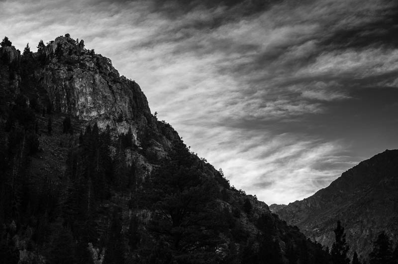 Sierra High 1 – Reversed Peak, The Sierra Nevadas, California