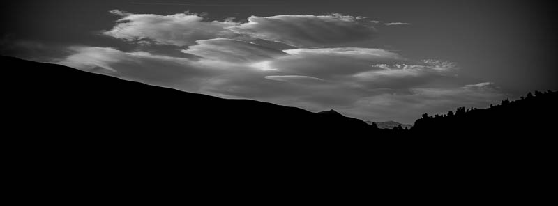 Sierra Sky 4 – Grant Lake, The Sierra Nevadas, California