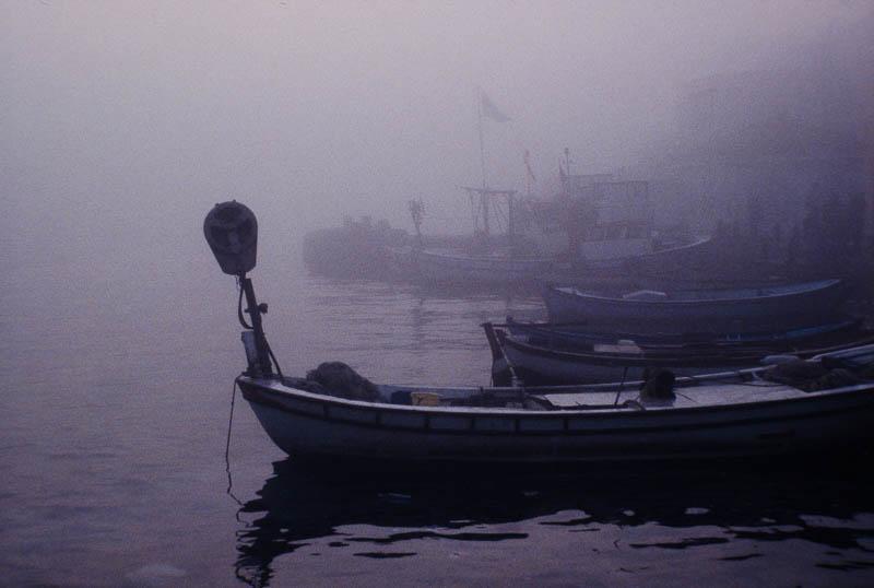 Boatyard Fog 1 – Kadikoy, Istanbul, Turkey (1996)