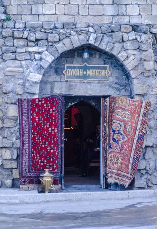Baku Rug Merchant – Baku, Azerbaijan (1996)