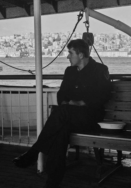 Sailor on Ferry