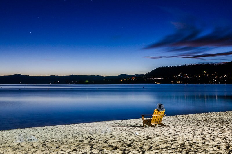 The Empty Chair - Lake Tahoe, Nevada