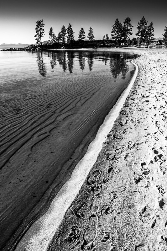 The Narrow Path - Sand Harbor, Lake Tahoe, Nevada