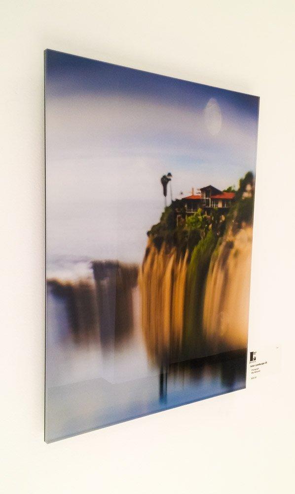 Exhibitions by Maz Mahjoobi - Acrylic Print - Float Mount