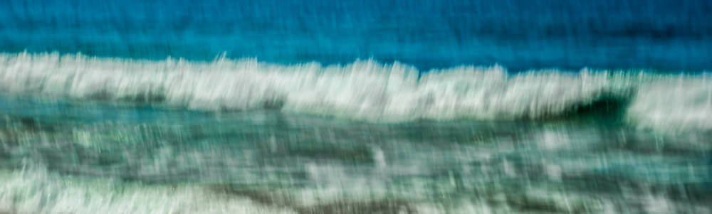 White Waves Blue Sea